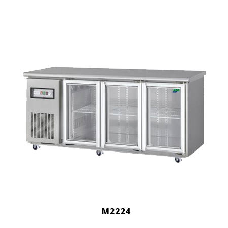 M2224 Under Bench Fridges with 3 Glass Doors for Sale
