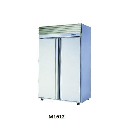 White Stainless Steel 2 Doors Fridge