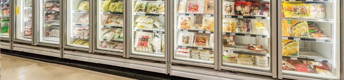 Glass Door Display Freezers