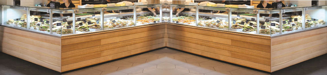 Meat and Deli Display Counters