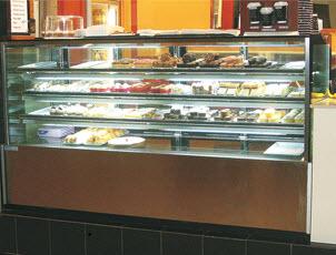 riviera - hot food display