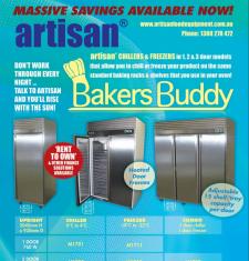 Bakers Chiller & Freezers - 1, 2 and 3 doors