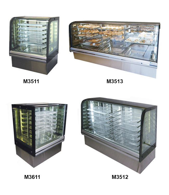 Ambient 'Le Chef' Display Cases
