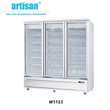 Base Mounted Glass Door Commercial Fridges