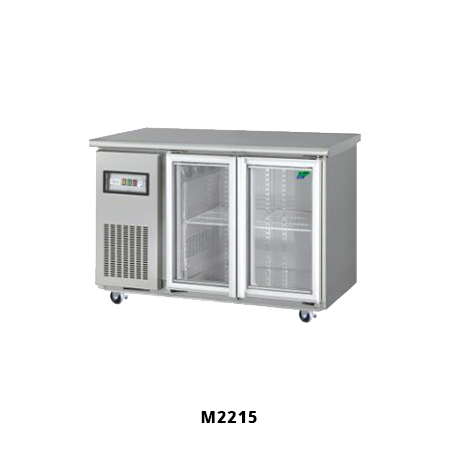 M2215 Under Counter Fridges with 2 Glass Doors for Sale