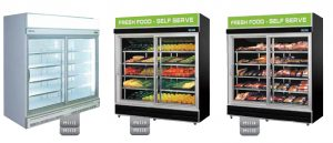 Sliding Glass Door Display Fridges