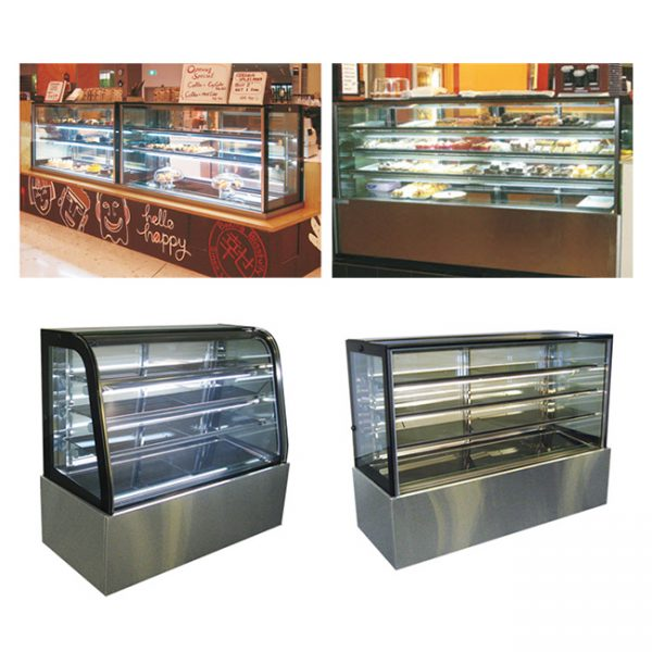 Heated 'Riviera' Display Cases