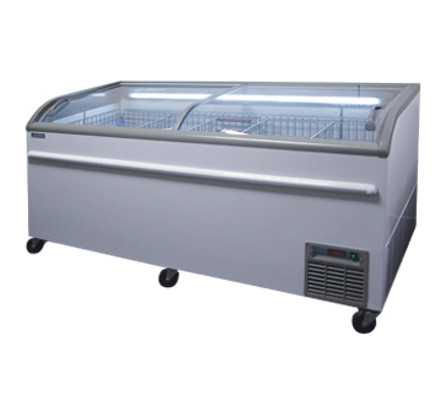 supermart display freezer