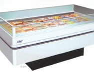 Dual-temp Island Display Freezers