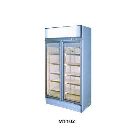 2 Door Glass Display Fridge