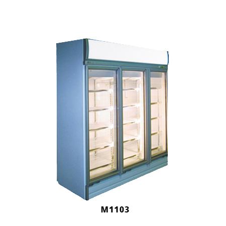 3 Door Glass Display Fridge M1103