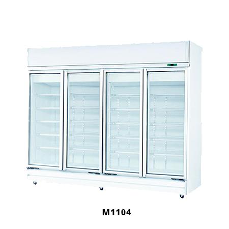 4 Door Glass Fridge M1104