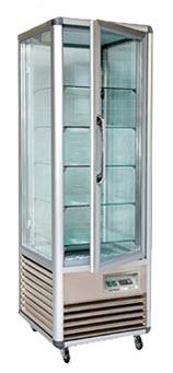 Monaco Tower Chiller & Freezer Display Cases