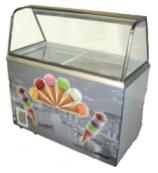 Venice Scoopy Ice-cream Display Cabinet