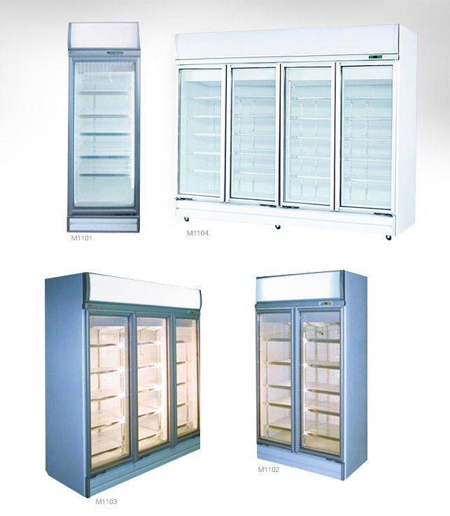 Glass Door Display Fridges – Top Mounted Works