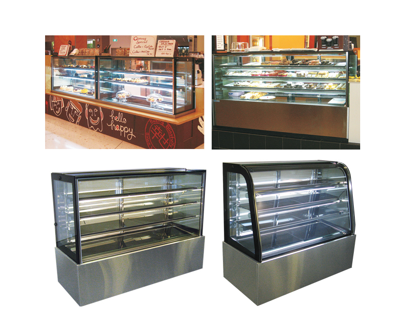 Ambient 'Riviera' Food Display Cabinets