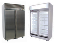 Upright Chillers Freezers & Combos