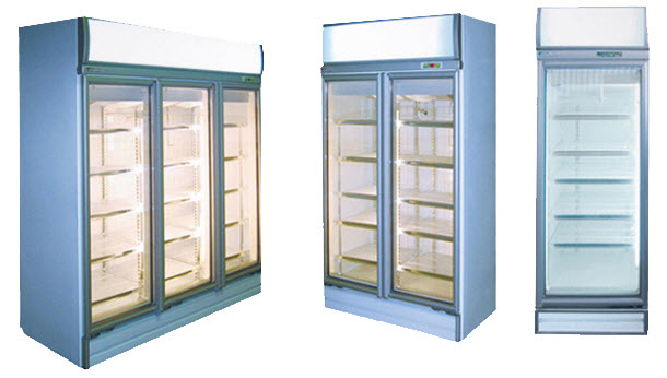 Glass Door Display Fridges – Top Mounted Works