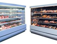 Meat & Dairy Open-front Upright Chiller
