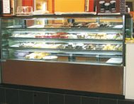 riviera - hot food display
