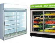 Sliding Glass Door Display Chillers