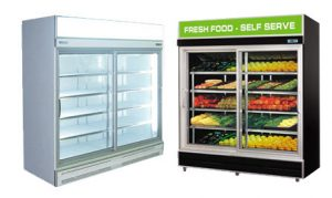 Commercial Sliding Door Display Fridges