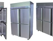 Stainless Steel Storage Chiller-Freezer Combos