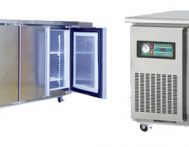 Under-counter Stainless Steel Freezers