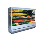 Open-front Upright Chiller Display Case