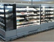 Coldmart Mode Slim-line Open-Front Display Chiller