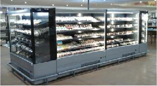 Coldmart Mode Slim-line Open-Front Display Chiller