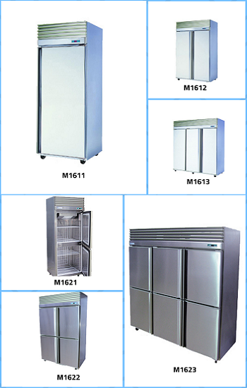 Stainless Steel Freezer for Storage