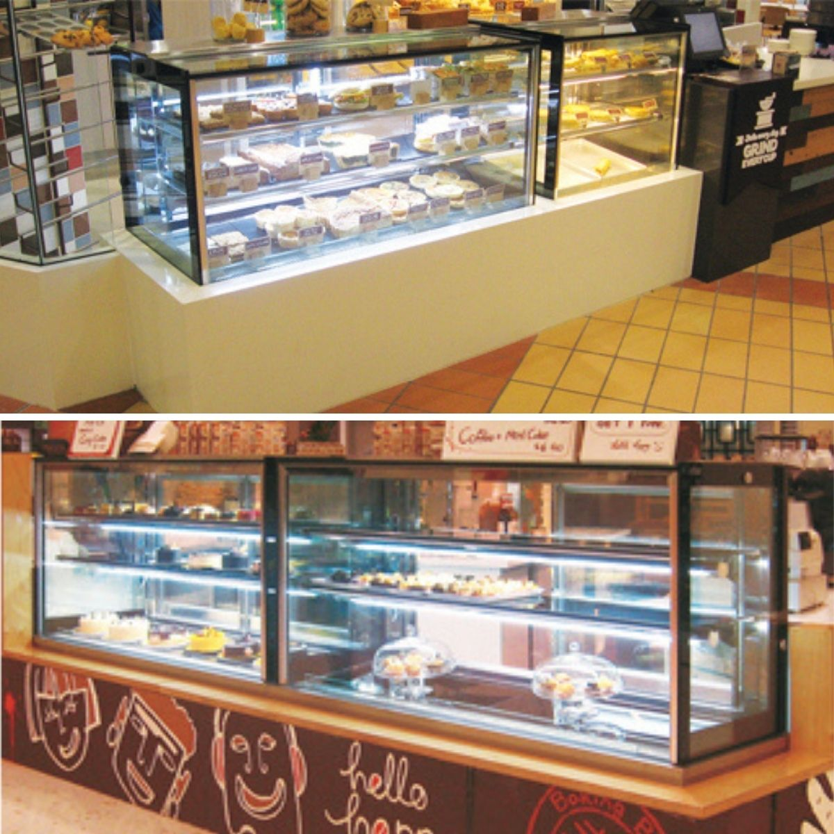 Food Display Cabinets for Sale