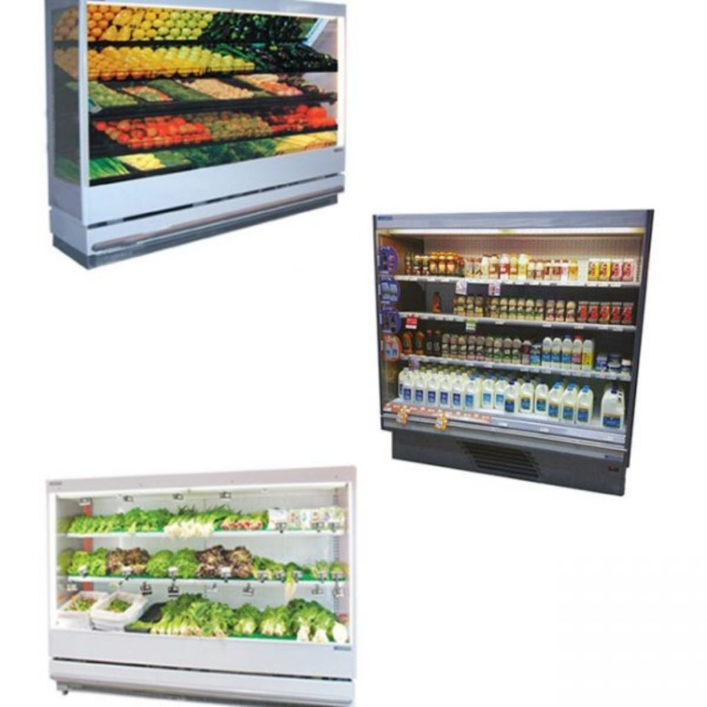 Fruit and Vegetable Upright Open Display Fridges
