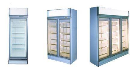 White Commercial Display Freezers for Sale