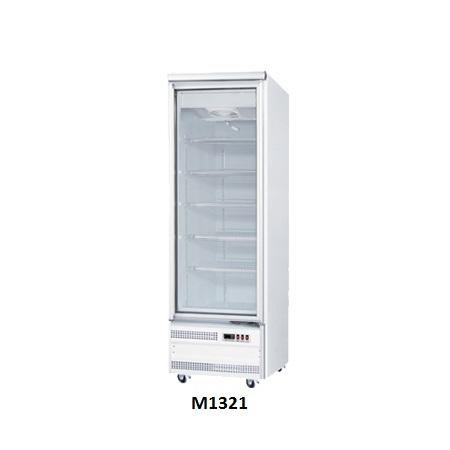 One Door Glass Display Freezers for Sale Australia Base Mounted M1321
